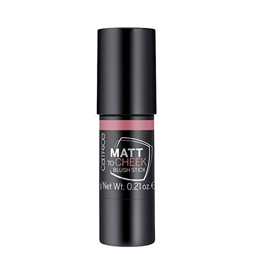 Catrice - Rouge - Matt To Cheek Blush Stick - Peach Fiction -
