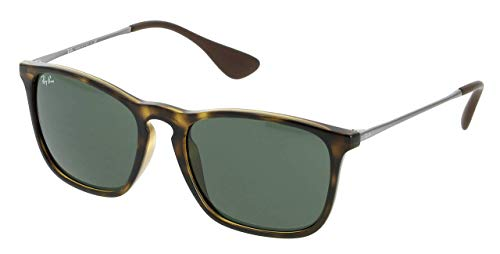 Ray Ban Unisex Sonnenbrille RB4187, Light Havana, Large (Herstellergröße: 54) - Italy In Ray-ban-brillen-made