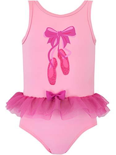 Harry Bear Bañador para Niña Bailarina Rosa 3-4 Años