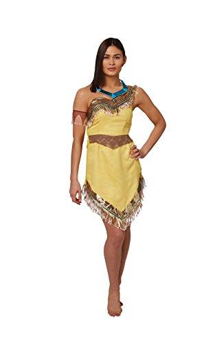 Imagen de rubie's  disfraz oficial de pocahontas de disney para mujer adulta  talla l. alternativa