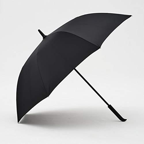 BAIF Business Regenschirm Einfache Mode Langer Griff Gerader Stab Verstärkung Winddichter Regenschirm Wasserdicht Doppel (Farbe: C)