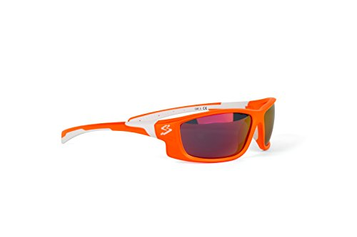 spiuk-spicy-gafas-de-ciclismo-unisex-color-naranja-mate-blanco
