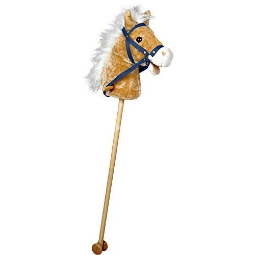 Spiegelburg 14420 Steckenpferd Pony mit Sound+Bewegung Mein kl. Ponyhof