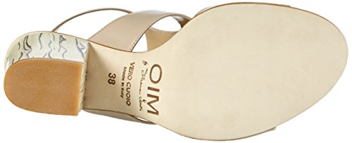 Objects in Mirror B631, Sandales ouvertes femme Beige - Beige