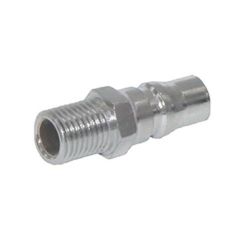 MagiDeal 8-20mm Druckluft Stecknippel Stecktülle Schlauchtülle Stecker Adapter für Luftleitung, PU-Rohr, Pneumatische Werkzeuge - PM40 1 / 2