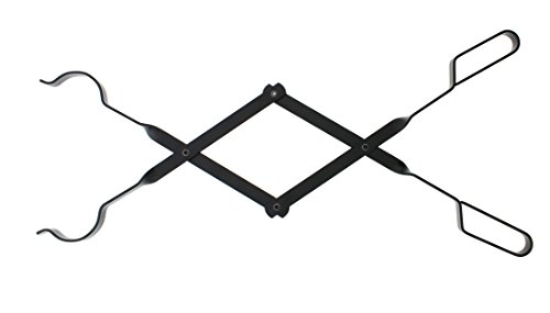 Log Grabber 66cm stabiles Metall scissor-action für Lagerfeuer oder Kamin -