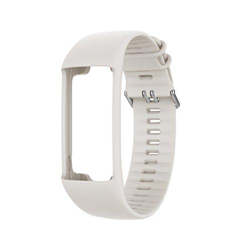 Großes Armband (POLAR Wrist Strap A370 Wechselarmband, Weiß, M/L)