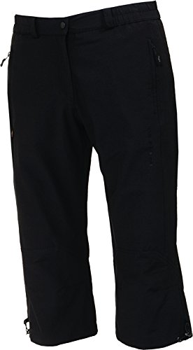 Hot Sportswear Stretch Pantalon Capri Sienna (Taille/Couleur : 38 – Noir)