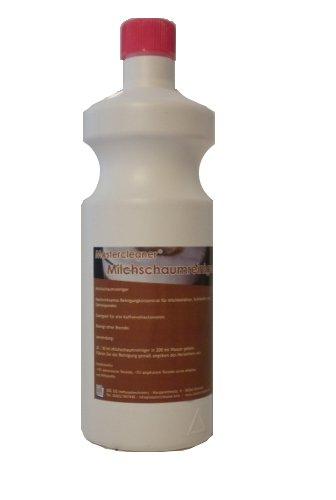 Mastercleaner Milchreiniger Milchschaumreiniger Milchdüsenreiniger Milchsystemreiniger Konzentrat 1 Liter für Siebträger, Kaffeevollautomaten Kapsel und Pad Maschine geeignet für alle Marken