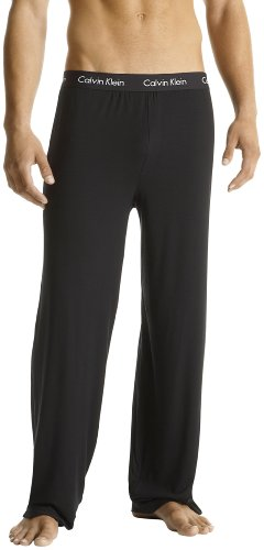 Calvin Klein Men's Body Modal Sleep Pant,Black,Medium