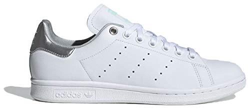 adidas Originals Sneaker Stan Smith W G27907 Weiss Silber, Schuhgröße:38 (Adidas Stan Smith Originals)