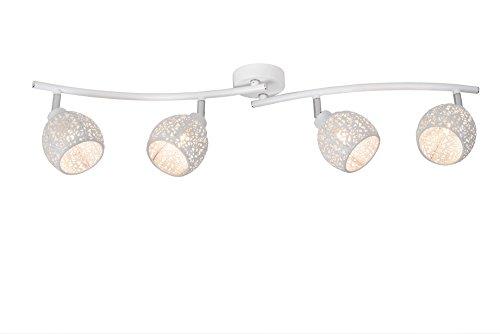 Lucide TAHAR - Spot Plafond - Ø 9,5 cm - G9 - Blanc