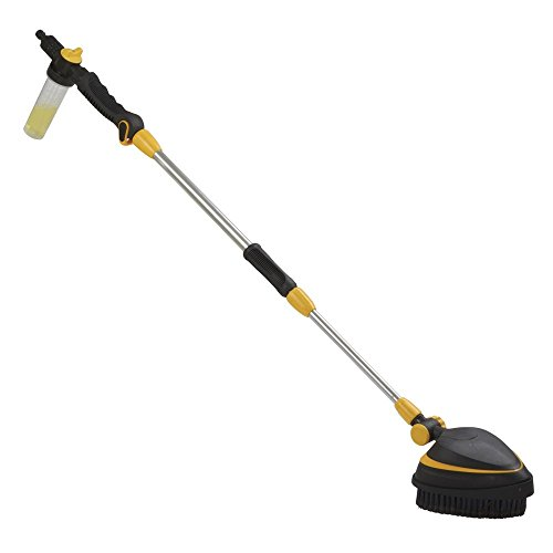 telescopic-long-reach-car-wash-brush-hose-connection-attachment-with-180-adjustable-head-position