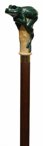 Collectable Animals Head Walking Stick / Cane - Frog by Classic Canes