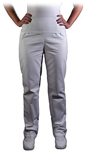 Uvex Whitewear 248 Damen-Arbeitshose - Weiße Frauen-Bundhose 42