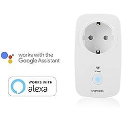 Smartwares Smart Home Pro | Funk Dimmer-Steckdose, steuerbar via Smart Home Pro Fernbedienung | Alexa kompatibel & App steuerbar via Basisstation