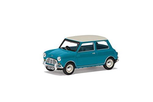 Corgi va02538Austin Mini MK1Cooper S 60th Anniversary Collection Modell, Surf Blau