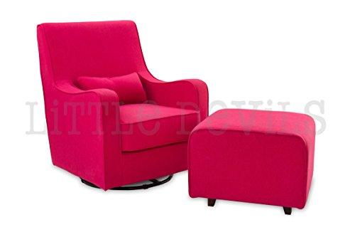 Stillsessel Hush Hush Glider/Rocken mit 360Drehgelenk in Pink
