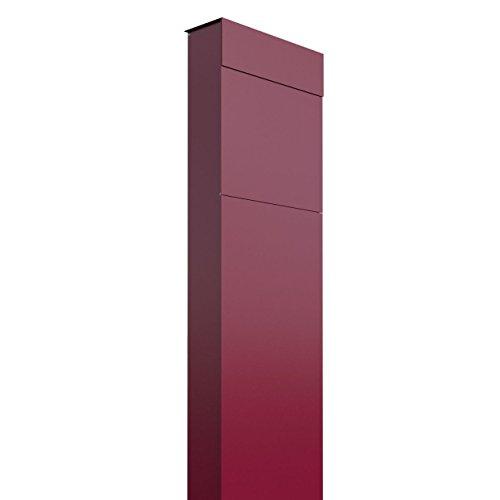 Standbriefkasten, Design Briefkasten The Box Rot - Bravios