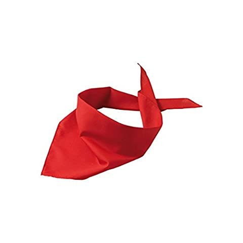 Foulard triangle - ROUGE