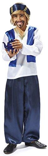 Sultan Kinder Kostüm - Golden Lutz - Kinder Jungen Kostüm Sultankostüm | Sultan | Kinderkostüm (Größe S, 4-6 Jahre)