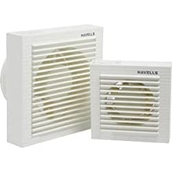 Havells Ventilair 150mm Exhaust Fan with Window (White)