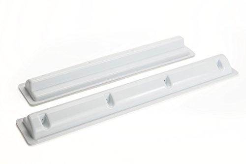 Preisvergleich Produktbild SOLARA® Premium ABS Haltespoiler HS55 / W Halterung für Solarmodul auf Wohnmobil