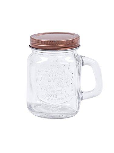 Henkelglas, Schraubglas | roségold