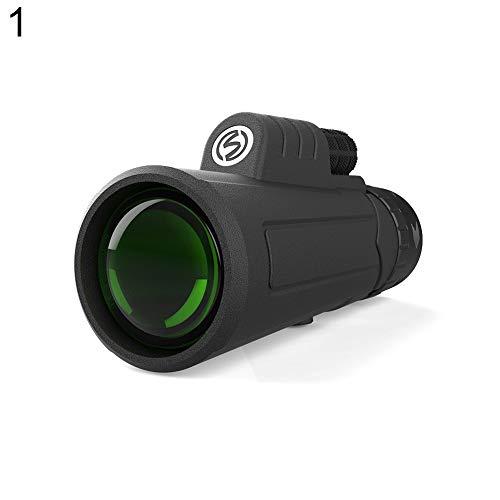 Ebestus - Telescopio monocular Profesional monocular, Creativo, portátil, Mini al Aire Libre, Verde, película HD, visión Nocturna monocular Telescopio - 10 x 40 1