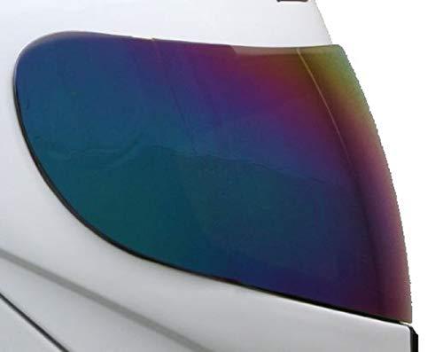ersatz Visier Helmvisier für ATO 118 K71 Helme (Farbe: Verspiegelt)