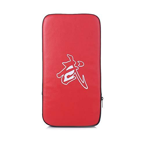 mxdmai Rechteck Fuß TTI Werkzeug Pad Stamping Feet Leder Pad Thai Kampf Boxen Karate Kick Ziel Red