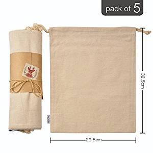 organic-cotton-muslin-produce-storage-bag-with-drawstrings-large-295-325cm-5-pack-christmas-holiday-