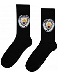 Official Manchester City Crest Socks (Adults)