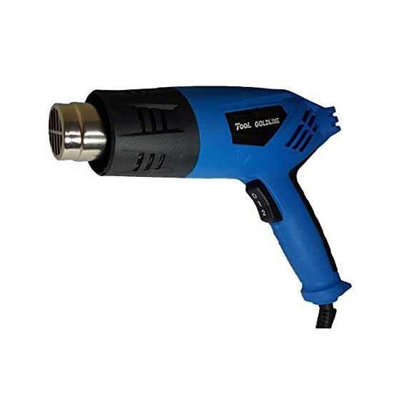 Inditrust 2000 Watt Professional heat gun Hot Air Gun with Dual Temperature Setting for Shrink Wrapping, Packing, Paint Removal