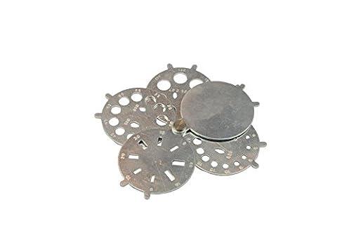 Proops Folding Diamond Gauge Gemstones 0.01-2 Carat. Multi Shape, Beads, Gems. (J1233) Free UK