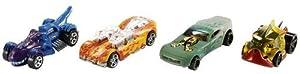 Hot Wheels BHR15 vehículo de Juguete - Vehículos de Juguete (Multicolor, Vehicle Set, 4 año(s), Niño, 1:64)