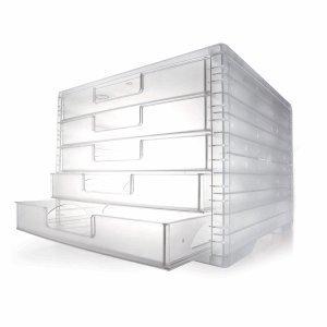 Schubladenbox LightBox, Farben Korpus/Schubladen transparent/farblos