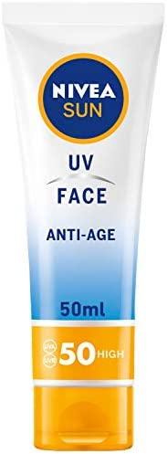 NIVEA, Sun Cream, UV Face Anti-Age, SPF50, 50ml