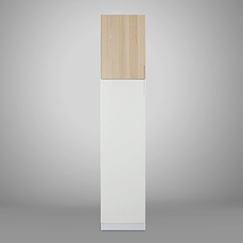 @home by Nilkamal Fusion Single Door Wardrobe (Glossy Finish, White)  available at amazon for Rs.18795