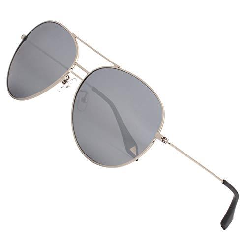GQUEEN Premium übergroß Pilotenbrille Polarisierte Sonnenbrille MZZ9
