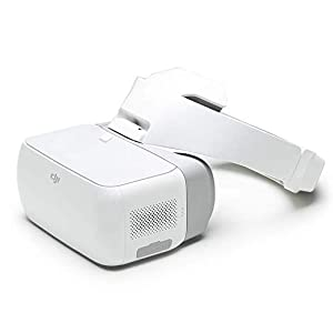 DJI Goggles - VR Racing Edition Goggles, 1920 x 1080 HD High Performance Racing Viewer, 2 HD Screens, Head Tracking Video Fpv, Ideal for Drone Racing, 3 Antennas - White