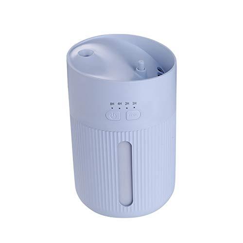 Gran Capacidad Humidificador USB Portátil Humectador Aire De Bebes LED 400Ml Ultra Silencioso Humidificador...