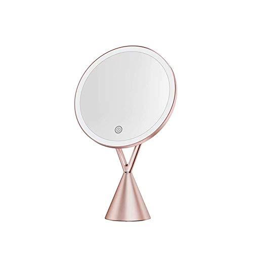 Make-up-Spiegel mit LED-Licht Smart füllen Licht Desktop-Spiegel Desktop-Dressing Make-up -