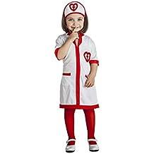 Disfraz de Enfermera Corazones para niña