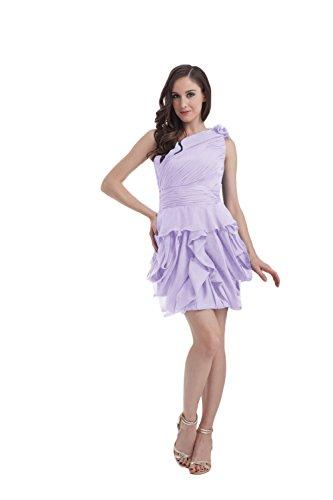 Bridal_Mall - Robe - Trapèze - Sans Manche - Femme Violet - Violet clair