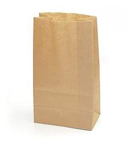 Yearol K02 50 bolsas papel kraft marrón. 28*18*11