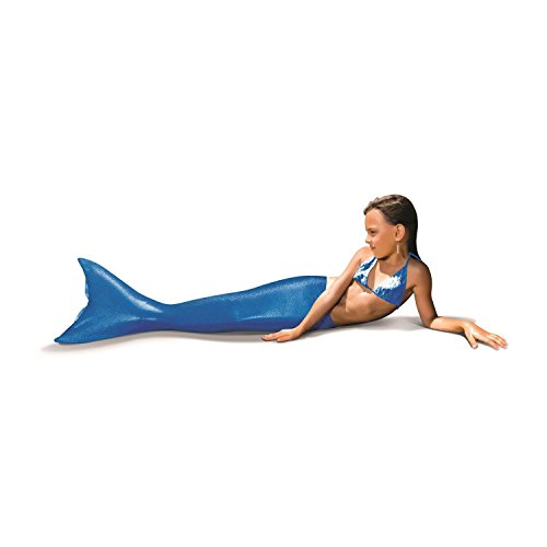 XTREM Toys Aquatail Meerjungfrauenflosse, blau, Größe 31 - 37