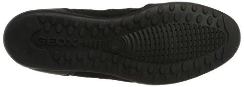 Geox Herren U Wells A Sneaker Schwarz (Black C9999)