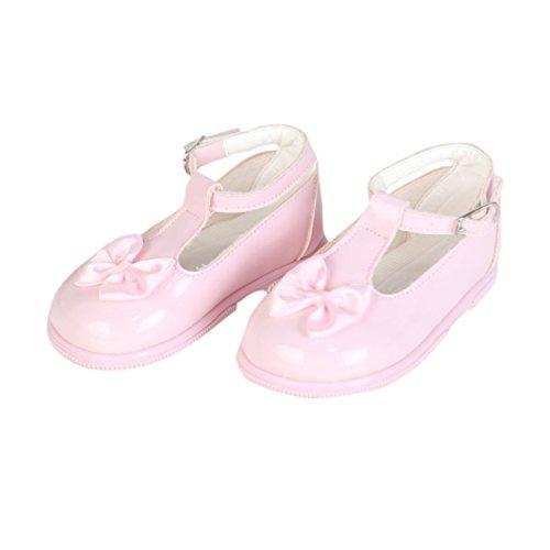 Early Days frühen Tagen Gelegenheit Schuhe für Mädchen Rosa UK Child 3 - EU 19 (Red Flats Mädchen Ballet)