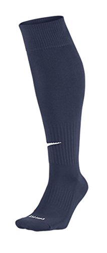 Marine-blau-damen-tennis-schuhe (Nike Unisex Classic Dri-Fit- Smlx Fußballsocken Fußballsocken Knee High Classic Football Dri Fit, Blau (Mitternacht Marine blau), M)